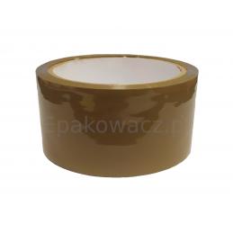 Taśma pakowa akrylowa 48/60y cicha brąz (54m)