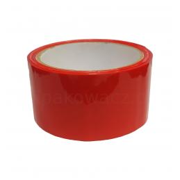 Taśma pakowa czerwona 48/50y (45m)