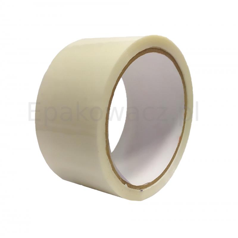 Taśma pakowa akrylowa 48/60y cicha biała (54m)