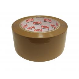 Taśma pakowa WIDA 48/132y (120m) brąz