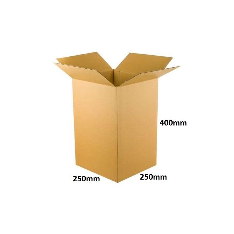 Karton klapowy 250x250x400 /100 szt./, 3w, 380g