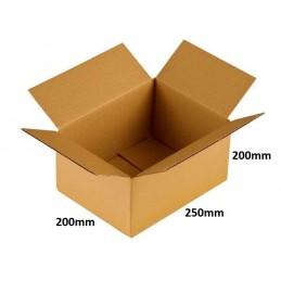 Karton klapowy 250x200x200 /200 szt./, 3w, 380g