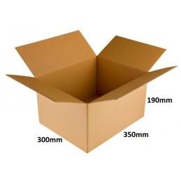 Karton klapowy 350x300x190 /20 szt./, 3w, 410g, InPost