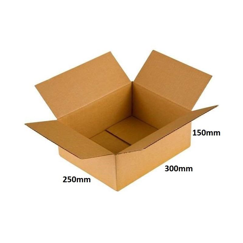 Karton klapowy 300x250x150 /160 szt./, 3w, 380g, Poczta Biznes S