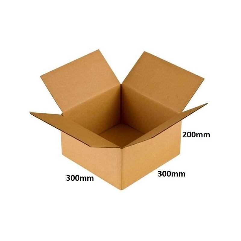 Karton klapowy 300x300x200 /120 szt./, 3w, 380g