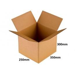 Karton klapowy 350x250x300 /100 szt./, 3w, 410g
