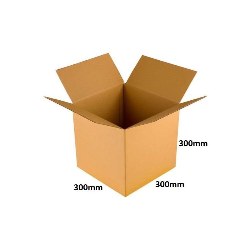Karton klapowy 300x300x300 /100 szt./, 3w, 380g