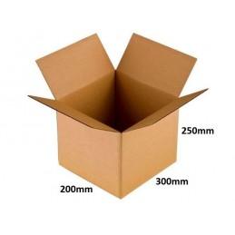 Karton klapowy 300x200x250 /160 szt./, 3w, 380g