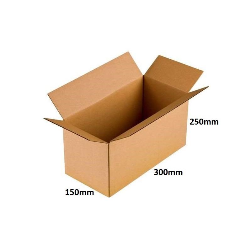 Karton klapowy 300x150x250 /180 szt./, 3w, 380g