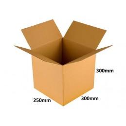 Karton klapowy 300x250x300 /120 szt./, 3w, 380g