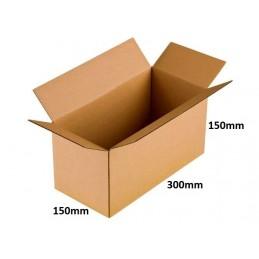 Karton klapowy 300x150x150 /280 szt./, 3w, 380g