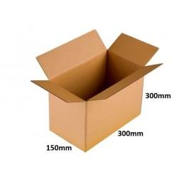 Karton klapowy 300x150x300 /180 szt./, 3w, 380g