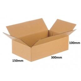 Karton klapowy 300x150x100 /320 szt./, 3w, 380g