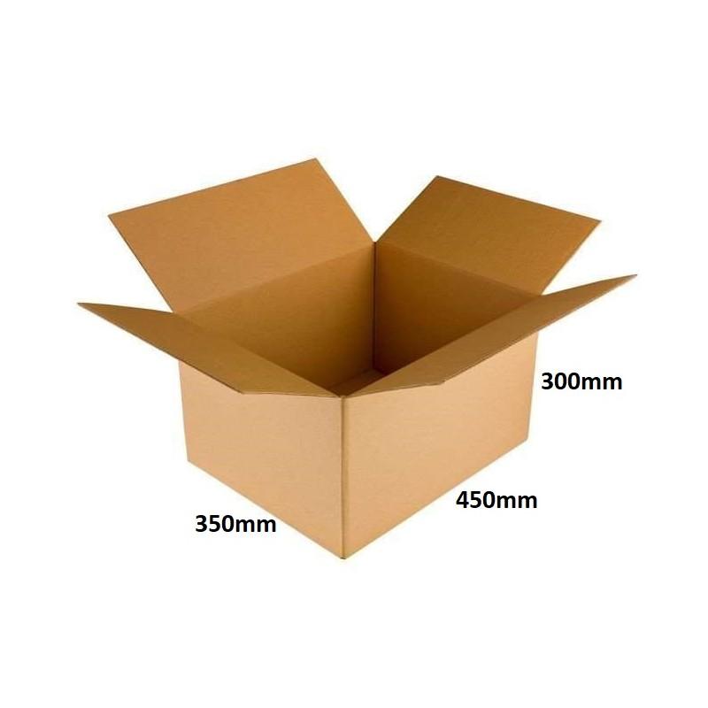 Karton klapowy 450x350x300 /60 szt./, 3w, 410g