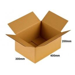 Karton klapowy 400x300x200 /20 szt./, 3w, 410g