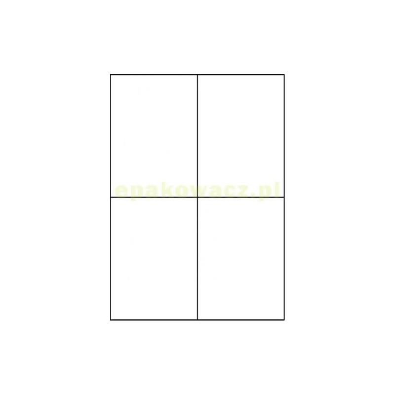 Etykiety samoprzylepne 105x148 (4 szt. na A4) a'100