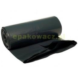 Worki na śmieci LDPE czarne 120L (10 szt.)