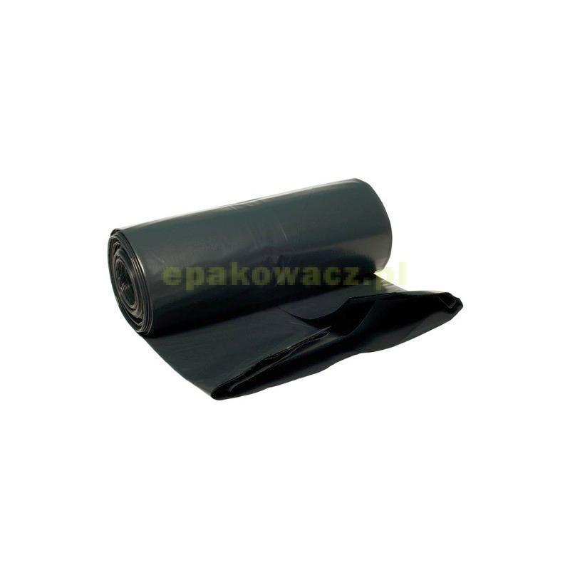 Worki na śmieci LDPE czarne 160L (10 szt.)