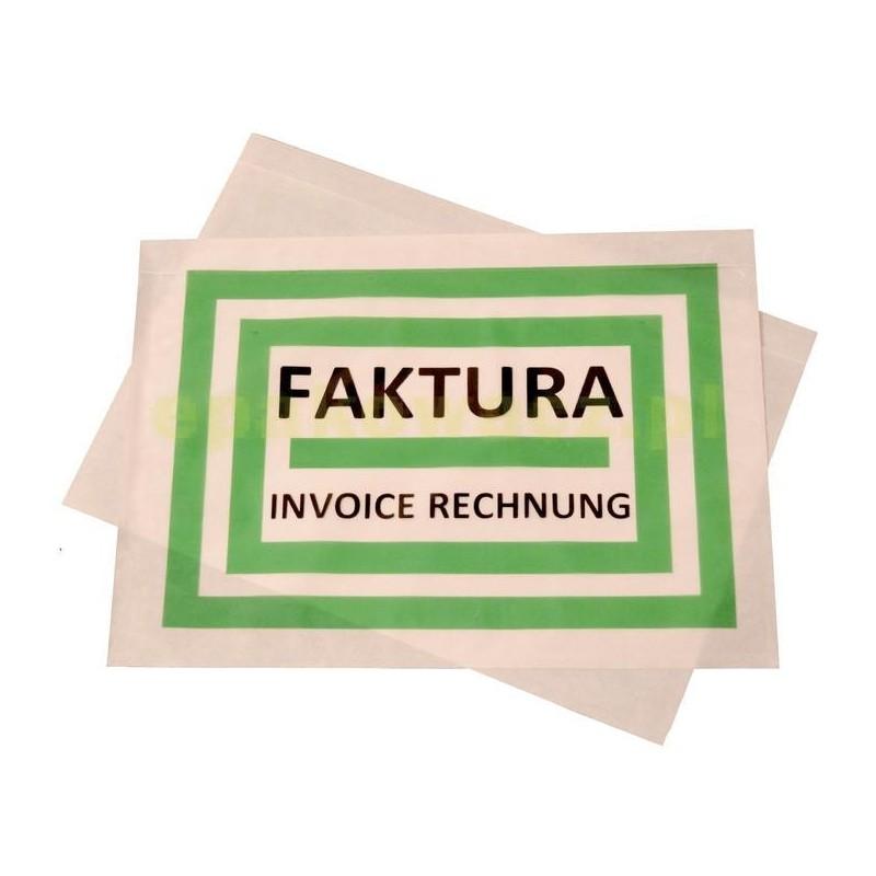 "Koperty Kurierskie ""FAKTURA"" /240x180mm/ (1000 szt.)"